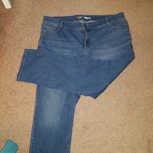Lee perfect fit straight leg jeans